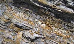 Intrusive rock formations